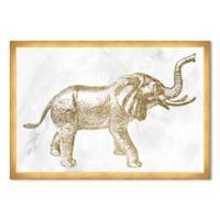 Haus of Arte Elephant 18-Inch x 12-Inch Framed Wall Art