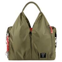 Lassig Green Label Neckline POP Diaper Bag in Olive Green 51d3bf36a4e97