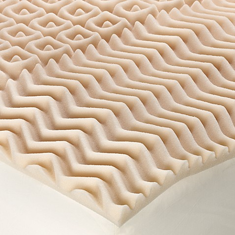 5 Zone Cot Size Foam Mattress Topper