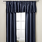 Argentina 95-Inch Rod Pocket Window Curtain Panel in Navy