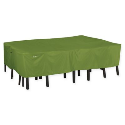 Classic Accessories® 72-Inch Rectangular/Oval Patio Table & Chair Cover - Buy Large Rectangular Table Cover From Bed Bath & Beyond
