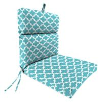 Print Outdoor 44-Inch Dining Chair Cushion in Ocean