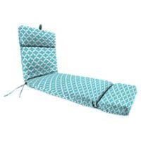 Print 72-Inch Chaise Lounge Cushion in Ocean