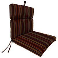 Stripe 44-Inch x 22-Inch Dining Chair Cushion in Sunbrella® Cultivate Tandoori