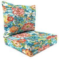 Print 24-Inch Deep Seat Chair Cushion in Sunriver Sky