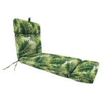 Print 72-Inch Chaise Lounge Cushion in Escape Route Jade