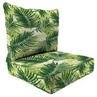 Print 24-Inch Deep Seat Chair Cushion in Escape Route