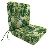 Print 44-Inch Boxed Edge Dining Chair Cushion in Escape Route