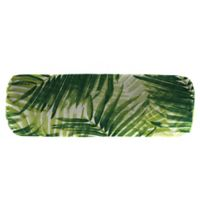Escape Route Oblong Throw Pillow in Jade