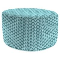Jordan Manufacturing Lalo 24-Inch Round Pouf Ottoman in Oxford