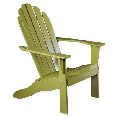 Southern Enterprises Adirondack Chair In Green