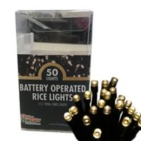 Holiday Bright Lights® 50-Light Battery-Operated Light Set in Warm White