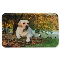 Pets@Heart Barkley Yellow Labrador Retriever 1'6 x 2'6 Kitchen Mat