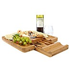 Mind Reader 5-Piece Cutting Board and Snack Tray Set