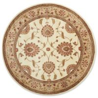 "Nourison Somerset 5'6"" Loomed Round Area Rug in Ivory"