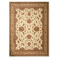 "Nourison Somerset 9'6"" x 13"" Loomed Area Rug in Ivory"