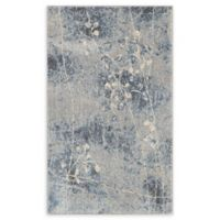 Nourison Somerset 2'6 x 4' Woven Area Rug in Silver/Blue