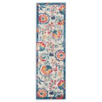 Nourison Passion Floral 1'8 x 6' Power-Loomed Runner in Ivory