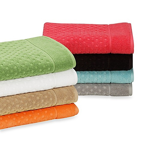 kate spade new york Larabee Dot Bath Towels, 100% Cotton