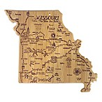Totally Bamboo Destination Bamboo Missouri Cutting Board