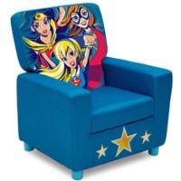 Superhero Girls Upholstered High Back Chair