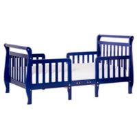Dream On Me Emma 3-in-1 Convertible Toddler Bed in Blue