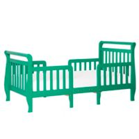 Dream On Me Emma 3-in-1 Convertible Toddler Bed in Emerald