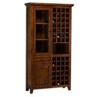 Hillsdale Tuscan Retreat® Tall Wine Storage Cabinet in Antique Pine
