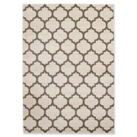 Rugs America Brooklyn 2' x 2'11 Accent Rug in Brown/Ivory