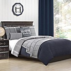 Baxton Studio Hunter Map Full Comforter Set