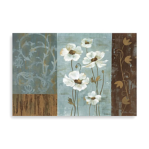 Blue Iridescent Anemonies Wall Art