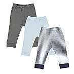 Luvable Friends® Size 0-3M 3-Pack Pants in Navy