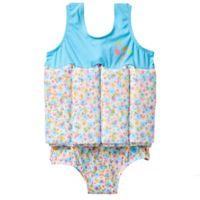 Splash About Girls' Size 1-2Y Float Suit in Flora Bimbi