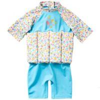 Splash About Size 2-4Y Girls' UV Float Suit in Garden Birds