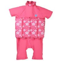 Splash About Size 1-2Y Girls' UV Float Suit in Pink Blossom