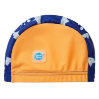 Splash About Size 18M Shark Swim Cap in Orange
