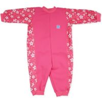 Splash About Size 12-24M Warm-in-One Long Sleeve Wetsuit in Pink Blossom