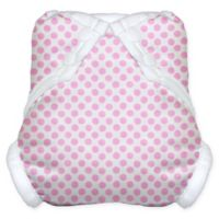 Tidy Tots® Snap Diaper Cover in Pink Dot