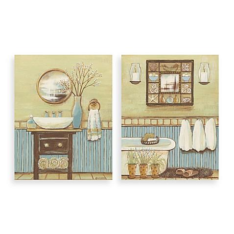 seabreeze bath wall art bed bath beyond. Black Bedroom Furniture Sets. Home Design Ideas