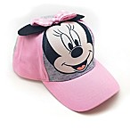 Disney® Minnie Mouse Toddler Cap in Pink