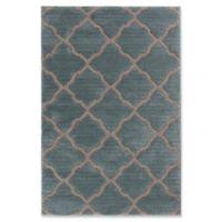 Trisha Yearwood Stillwater Pipestone Glass Woven 5' x 7'6 Area Rug in Sea Green