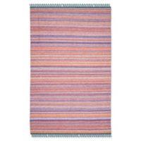 Safavieh Kilim 4' x 6' Krista Rug in Purple