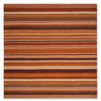 Safavieh Kilim 7' x 7' Beverly Rug in Rust