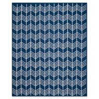 Safavieh Kilim 8' x 10' Angela Rug in Navy
