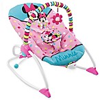 Disney® Minnie Mouse Peek-A-Boo Vibrating Infant-to-Toddler Rocker