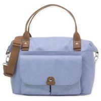 BabyMel™ Jade Over-the-Shoulder Diaper Bag in Blue