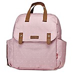 BabyMel™ Robyn Convertible Diaper Bag in Dusty Pink