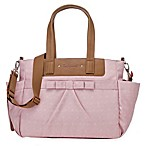 BabyMel™ Cara Bloom Origami Heart Diaper Bag in Pink