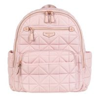 TWELVElittle Companion Backpack Diaper Bag in Pink Blush