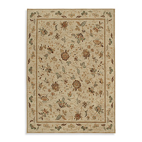 Shaw Renaissance Collection 1-Foot 10-Inch x 3-Foot Rug in Beige